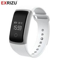 EXRIZU A09 Sport Inteligentne Nadgarstek Krokomierz Fitness Bransoletka Smartband Aktywny Tracker Pulsometr Miernik Ciśnienia Krwi