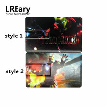 Credit Card Iron man super hero usb flash drive Pen drive personalized disk memory stick pendrive mini gift  4gb 8gb 16gb 32gb