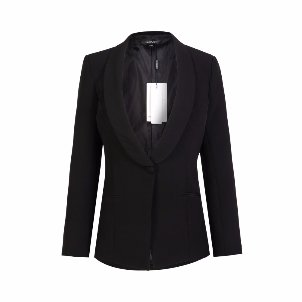 Aliexpress.com : Buy IRISIE Apparel Black Office Blazer Suit ...