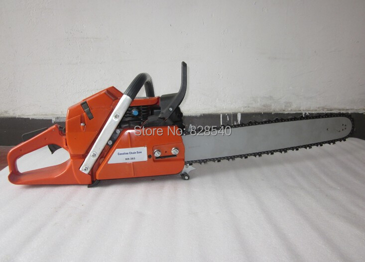 "Professional wood cutter chain saw HUS 365 Gasoline CHAINSAW ,65CC CHAIN SAW, Heavy Duty Chainsaw with 20""Blade"