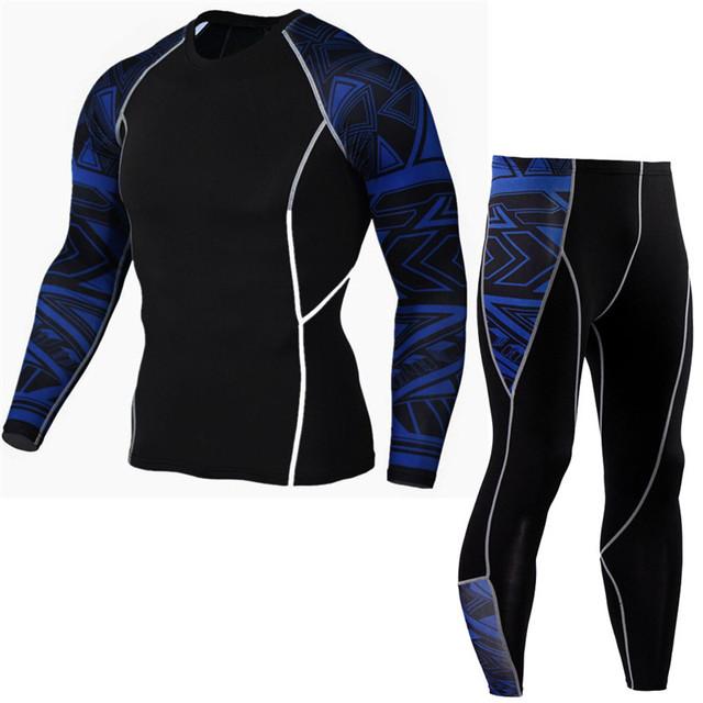 Men's Compression Jogging Suit