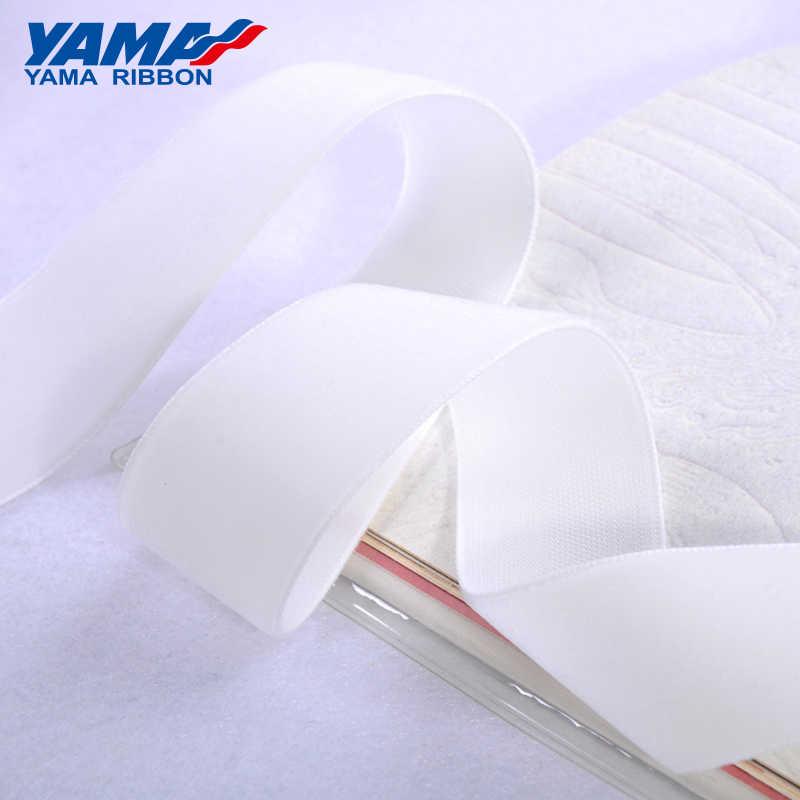 YAMA 1-1/2 cala 38mm aksamitne w jednolitym kolorze wstążki na dodatki do odzieży ślubnej 20 jardów/lot (sklepy mają 10 rodzajów wielkości)