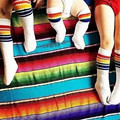 Baby Girl Boy Babies Burst Models Babies Lovely Rainbow Striped Tube Socks Knee-High Infant Baby Boys And Girls