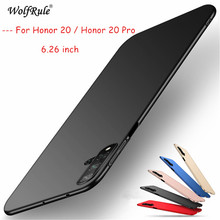 Honor 20 Cases Pro Cover Ultra-thin Smooth Back Protection Plastic PC Hard Case For Huawei /