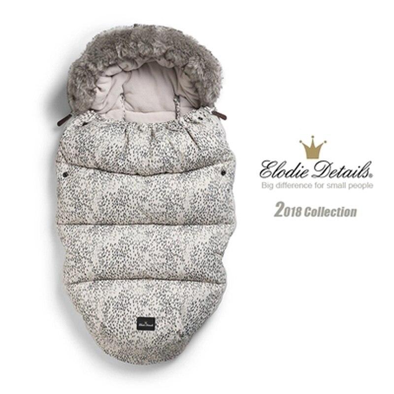 Elodie Details -30 degrees New Baby Stroller Sleeping Bag Newborn Envelope Kids Thick Foot Cover for Pram Wheelchair Bed Infant все цены