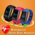 Спорт Bluetooth Smart Watch Часы Smartwatch Подключен Монитор Сердечного ритма Водонепроницаемый Фитнес Часы Для iphone И Android iOS