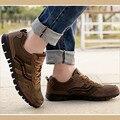 Плюс Размер 44-48 Осень-Весна Мужчины Обувь Марлевые Дышащие Ботинки Большого Размера Случайные На Открытом Воздухе Плоские Туфли