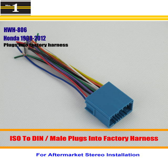 compare prices on car stereo harness online shopping buy low car wiring harness for honda odyssey pilot prelude ridgline s2000 car stereo adapter connector