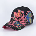 butterfly Embroidery Baseball Caps for women Sequins Elegant fashion Sports cap Girl snapback hats gorras beisbol casquette