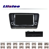 For Skoda Octavia MK3 5E 2014 2017 Car Multimedia TV DVD GPS Original Style Navigation Android