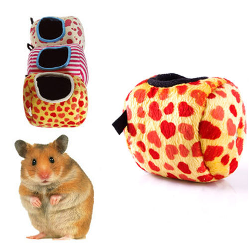 8 x 8cm Rat Hamster Parrot Ferret Rabbit Squirrel Toy House Hammock Hanging Bed #46654