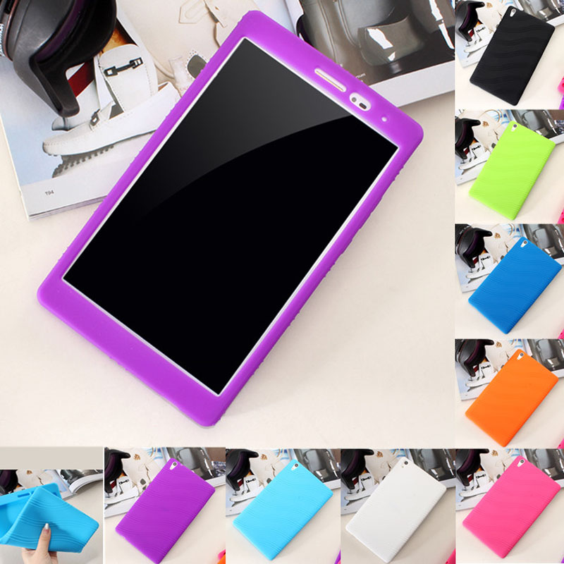 Ultra Slim Soft Silicone Rubber Protector Shell Bag Cover Case For Huawei Honor Tablet 2 JDN-AL00 JDN-W09 Mediapad T2 8 Pro 8.0 x line tpu case gel silicone tablet case skin rubber cover pouch sleeve bag for sony xperia z3 8 0 tablet compact sgp621 sgp641