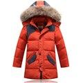 2016 Warm Boy's Winter down Jackets Newest  baby boy's Coats thick duck Down brand Kids jacket Children Outerwears cold winter