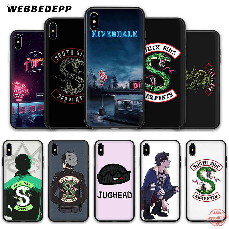 WEBBEDEPP Riverdale TV Shows Soft Silicone Case for Apple iPhone 11 Pro XS Max XR X 8 7 6SPlus 5S SE 7Plus 8Plus 11Pro Max Cases