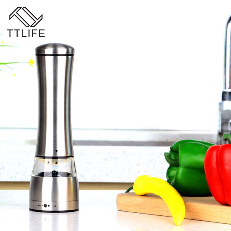 TTLIFE New Stainless Steel Hand Pepper Grinder Muller Cutter for Cooking Kitchen Gadget Kitchen Accessories