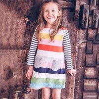 Toomine Kids Dresses For Girls Long Sleeve Toddler Girl Dresses Winter 2017 Fashion Cute Kids Baby