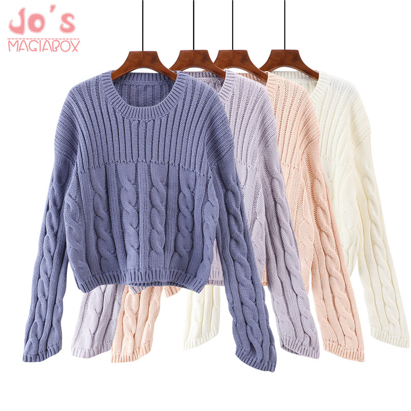 Pullover Sweater Women Cashmere Female Winter Streetwear Round Neck Knitted Women Sweaters And Pullovers Sueter Mujer Tops