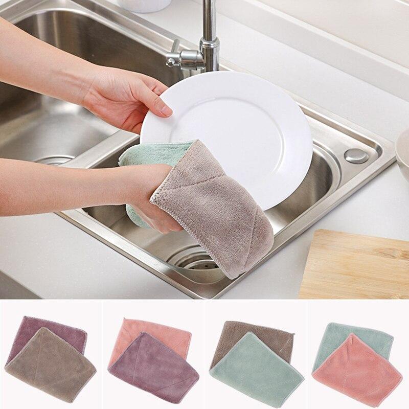 Poetsdoek Multifunctionele Microfiber Auto Wassen Handdoek Absorberende Doekjes Schoonheid Kapper Droog Haar Handdoek Huishoudelijke Schoonmaakdoekje Goedkope Verkoop 50%