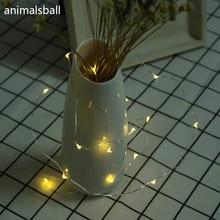 20 LED Chic Cork Shaped LED Night Light Starry Light Wine Bottle Lamp For Christmas Decor