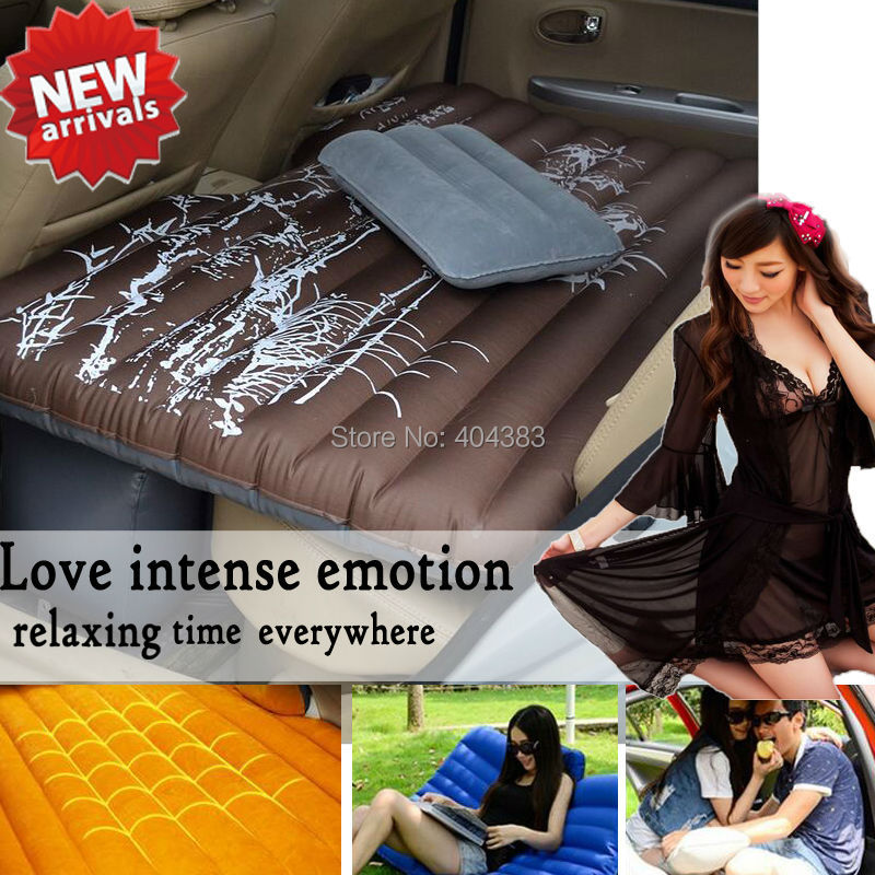цена на hot sale sleeping or sex love car Travel Inflatable Mattress Inflatable Bed Camping Back Seat Extended Mattress for Parent-child