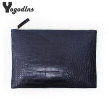Fashion clutch evening bag female Clutches Handbag crocodile grain women's clutch bag leather women envelope bag free shipping