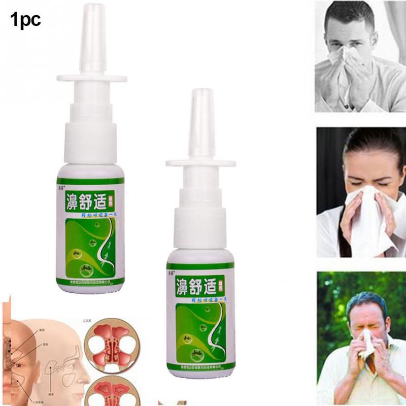 20ml Rhinitis Congestion Spray Medical Nose Herb Health Care Sinusitis Nasal