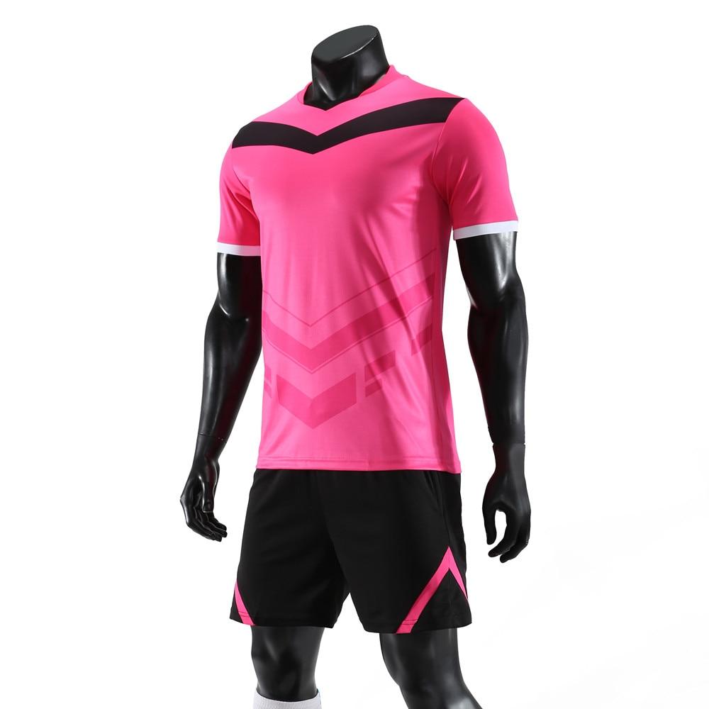 Professional Custom Adult Soccer Jerseys Set Uniforms Football Clothes Kit Cheap Breathable Football Shirt Tracksuit