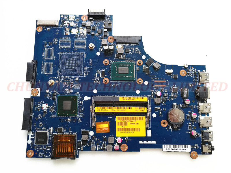 FOR DELL INSPIRON 3521 5521 Laptop Motherboard VAW00 LA-9104P REV:1.0(A00) 2127U SR105 CN-03H0VW 03H0VW Mainboard 90DaysWarranty cn 0md666 laptop motherboard for dell inspiron 6400 e1505 da0fm1mb6f5 rev f 945gm ddr2 mainboard mother boards