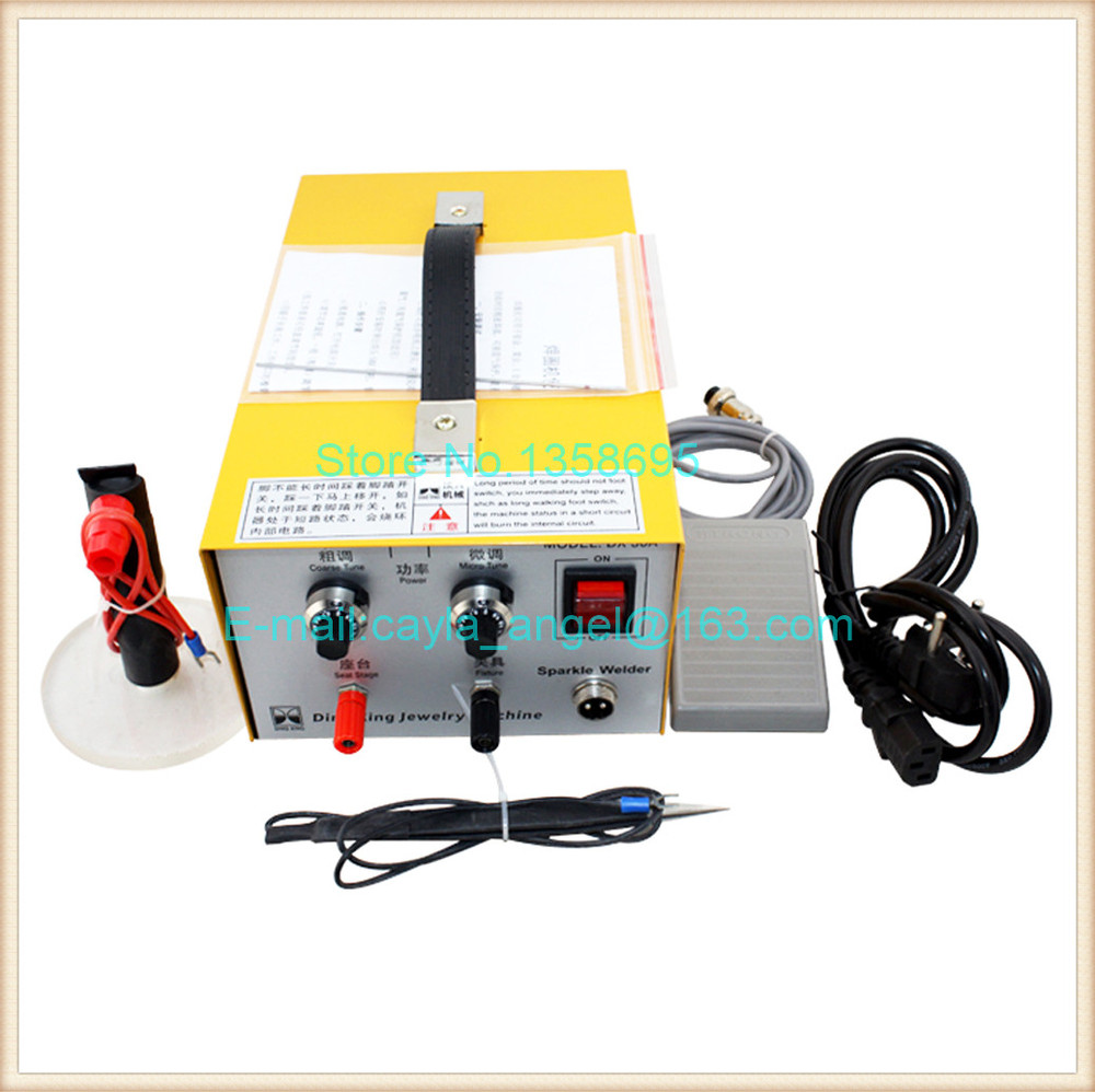 Jewellers Tool 30A Handheld Electronic Spot Welder,Welding Machine Jewelry Equipment