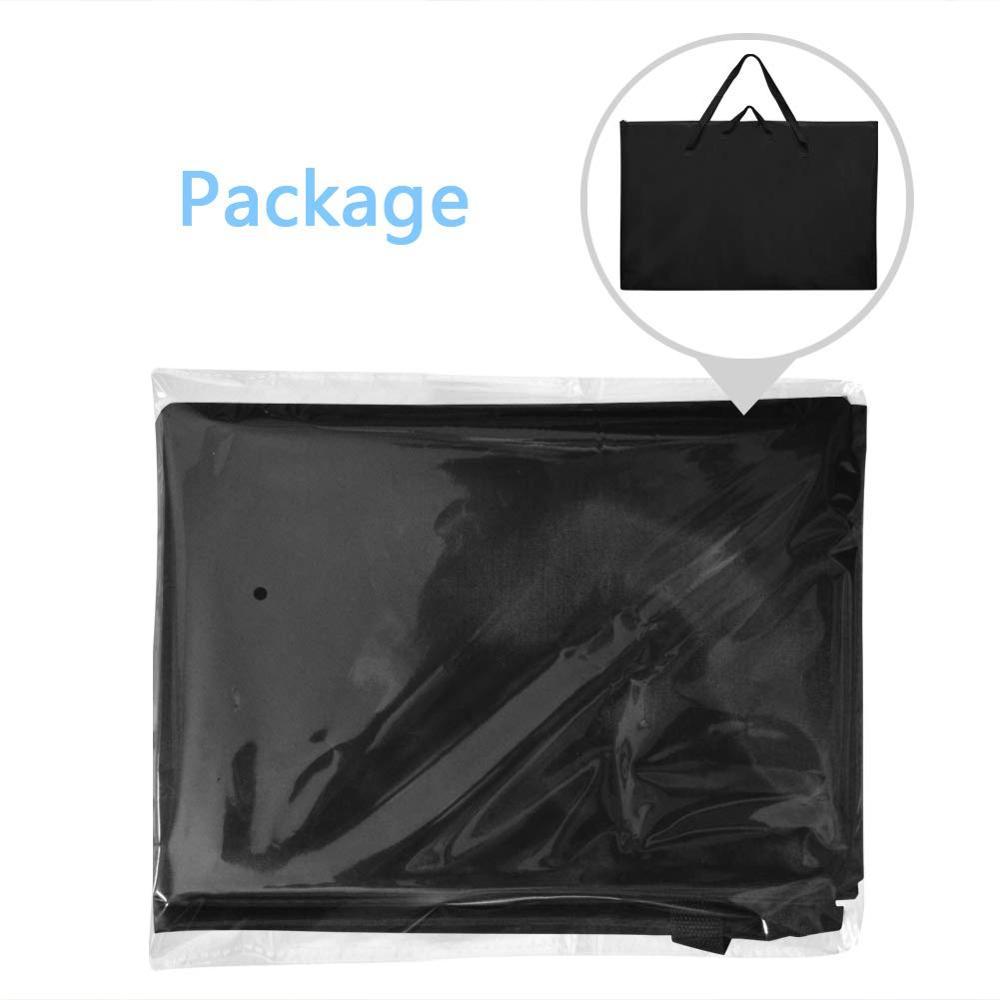 godery large size art portfolio tote with nylon shoulder poster board storage bag 24 x 36 student art work portfolio case