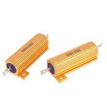 50W 0.05 ohm 0.05R Aluminum Clad Resistor 50 W Watt x 2