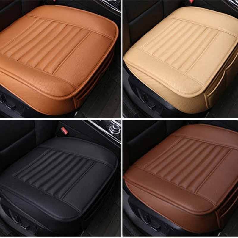 New PU Leather Car seats protect mat cover Car Seat Cover Pad Breathable cushion Cool Car Seat Cushion Truck Auto Chair Cover