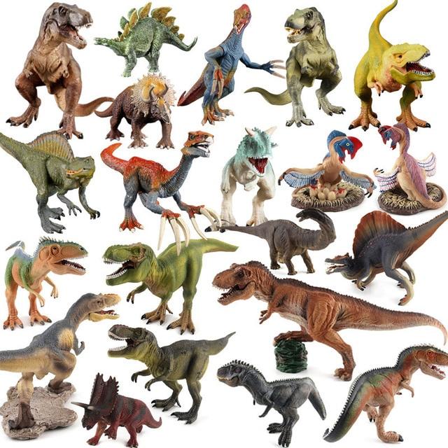 Tamanho grande Dragão Jurassic Park Modelo Brinquedos de Dinossauros para Crianças Conjunto de Brinquedo para Meninos Animais Jogo de Ação Figura One Piece decoração de casa