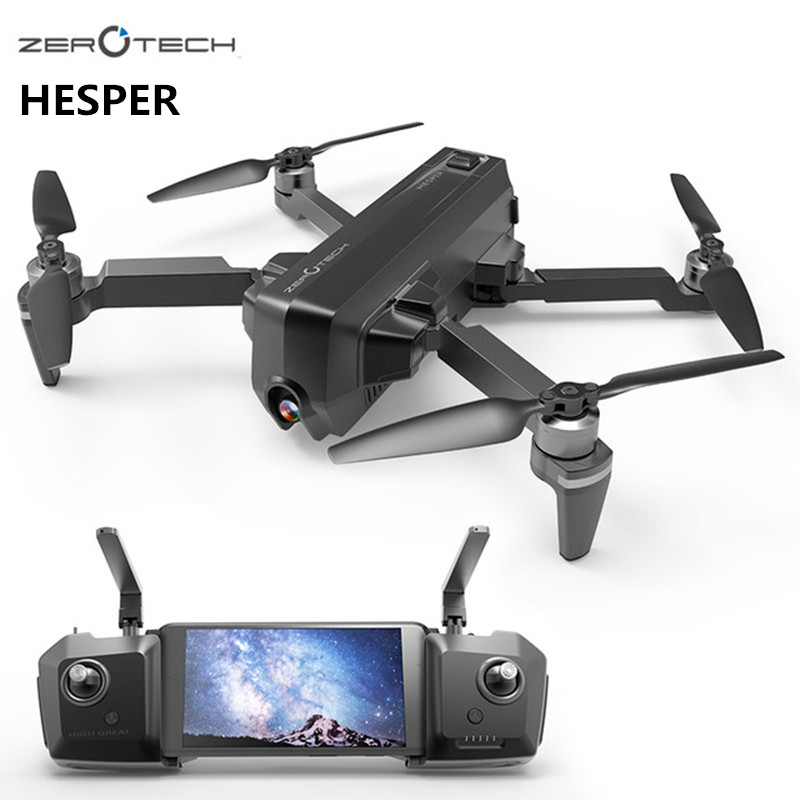 Zerotech HESPER 4K Drone FPV With 1080P Smart Gimbal Selfie Camera Foldable RC Quadcopter GPS VPS Helicopter Fly More Combo Ver dji mavic pro platinum fly more combo 1080p with 4k video camera drone rc helicopter fpv quadcopter original