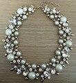 2016 New Luxury Women Jewelry Z Brand Crystal Statement Necklace Choker Collar Lady Fashion Accessories Rhinestone Jewelry