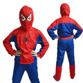 Free shipping Children's Halloween costume spiderman tights suit children Fancy  clothing