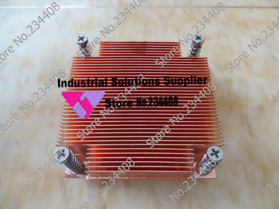 все цены на  NEW 1u all copper silence server 1155 1156 1150 1366 fan CPU radiator  онлайн