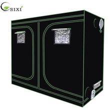 Crescere tenda per la coltura idroponica dellinterno serra impianto di illuminazione Tende 240*120*200 centimetri Crescere tenda crescere box