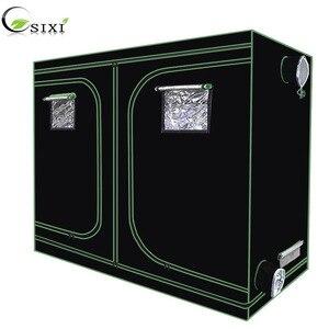 Image 1 - Crescere tenda per la coltura idroponica dellinterno serra impianto di illuminazione Tende 240*120*200 centimetri Crescere tenda crescere box