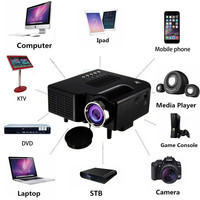 New Mini Projector In Home Theater Projector Portable LED Projector Full HD 1080P Optional Android 6