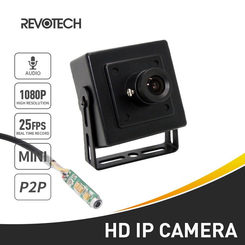 bilder für Audio Mini Typ HD 1920x1080 P 2.0MP Ip-kamera Metall Indoor Überwachungskamera ONVIF P2P IP CCTV Cam