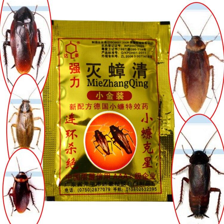 10 pcs Powerful Effective Cockroach Killing Bait Cockroach Control Bait <font><b>Pest</b></font> Control idea for Kitchen Restaurant MD6130