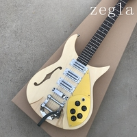 High quality rick electric guitar, two alder bodies,rosewood's guitar neck, Korean production of three pickup, Real photos
