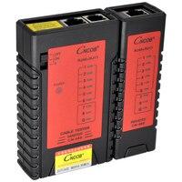 CNCOB Ethernet Cáp Thử Nghiệm RJ45 RJ11 RJ12 CAT5E CAT6 LAN Cable Tester Mạng Công Cụ Kiểm Tra kiểm tra cho UTP/STP cable network