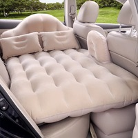 XIAOLV 2018 High quality Top Selling Car Back Seat Cover Travel Mattress Air Inflatable Bed with pump