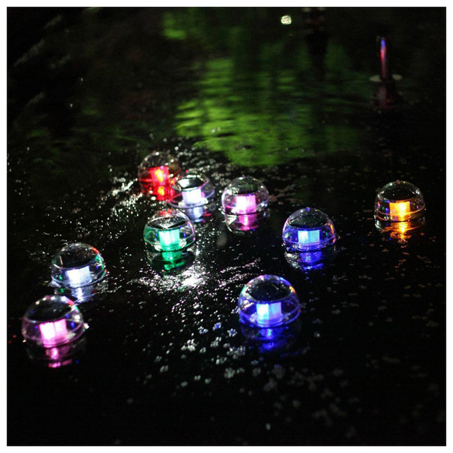 US $7.74 23% OFF|Solar Power Floating Pool Light LED Colorful Globe Night  Lamp Ball Waterproof Decor For Swimming Pool Garden Decor Party Lanten -in  ...