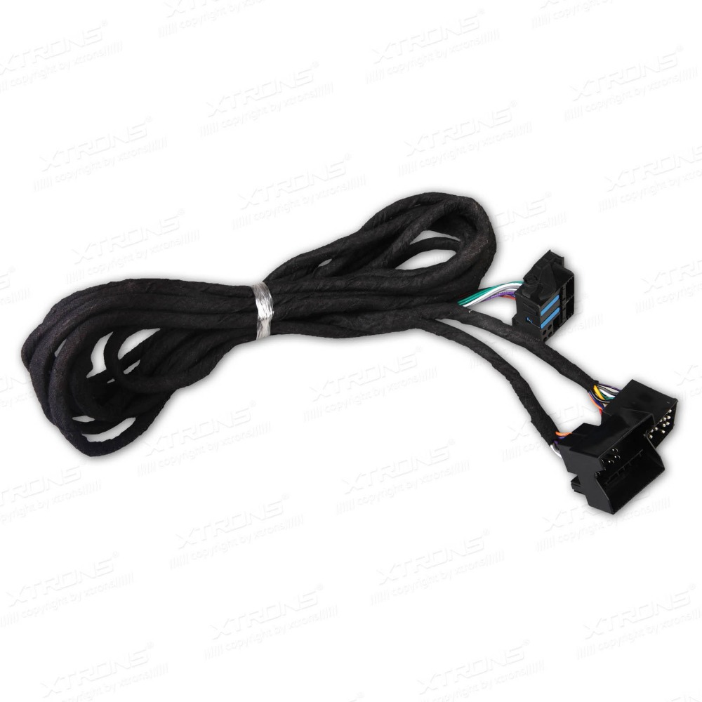 XTRONS Extra Long 6 Meters ISO Wiring Harness for BMW Suitable for Head Unit with Quadlock xtrons wiring harness automotive wiring harness connectors eonon d2208 wiring harness at mifinder.co