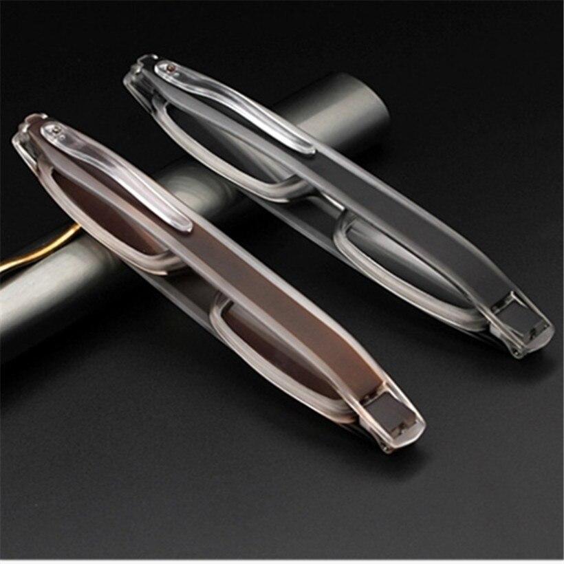 Occhiali da lettura pieghevoli con rotazione a 360 gradi con custodia diottrie uomo donna occhiali da lettura pieghevoli 1.0 1.5 2.0 2.5 3.0 3.5 4.0
