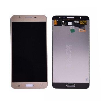 Asli 5.5 ''IPS HD LCD untuk Samsung Galaxy J7 Prime Tampilan G610 G610F Sentuh Layar Digitizer Tampilan J7 Perdana pengganti