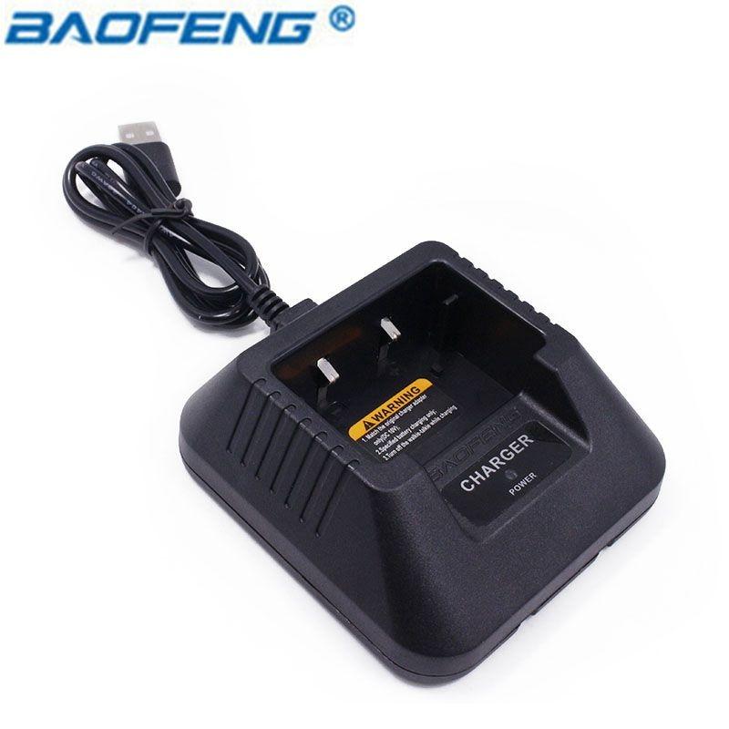 Baofeng UV-5R USB Desktop basis Batterie Ladegerät für pofung UV5R UV-5RE DM-5R dm5r Plus Li-Ion Ladegerät CB Radio Walkie Talkie
